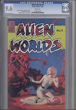 Alien Worlds #5 CGC 9.6 1983 Pacific  Sci-fi Comic Space Vixons in Peril
