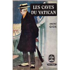 LES CAVES DU VATICAN d'André GIDE Sotie Collection Livre de poche Gallimard 1960