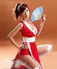 Dead or Alive Sexy Ninja Mai Shiranui Kasumi Cosplay Costume Halloween Party