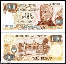 ARGENTINA 1000 Pesos 1976/83 Pick 304b SC / UNC