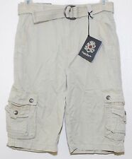 English Laundry Cargo Shorts w Belt Boy's Size 5 Light Khaki  NWT $48