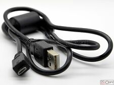 USB Data Cable Cord For Sony DSC-RX100 DSC-TX200 DSC-TX300 Alpha NEX-F3 NEX-3N