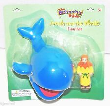 JONAH & WHALE CHRISTIAN TOY ACTION FIGURE FROM THE BEGINNERS BIBLE FIGURINE 2013