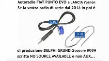 "KIT cavo aux Y Lancia Ypsilon dal 2013 e radio Bosch ""no source available"" 1,4mt"