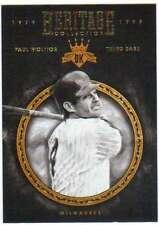 2016 Panini Diamond Kings Heritage Collection Insert #9 Paul Molitor Brewers