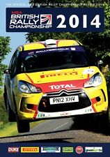 MSA British Rally Championship - Official Review 2014 (New DVD)