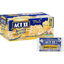 ACT II Butter Lovers Microwave Popcorn - 28/78gr