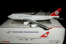 A13067 Garuda Indonesia B747-412 EC-KSM Apollo Models 1:400 diecast model
