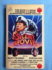 SILENT MOVIE - FIRST EDITION SIGNED BY MEL BROOKS AND CAST MEMBERS