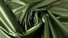 "1.3 OZ RIPSTOP MILITARY NYLON FABRIC OLIVE DRAB GREEN OUTDOOR WATERPROOF 64"" DWR"
