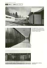 1964 Louvred Screen For Hospital Borocourt Powell And Moya