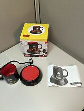 Coffee Cup / Mug Warmer With Coffee Cup / Mug Mickey Mouse Disney BLACK