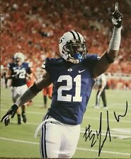 Jamaal Williams Hand Signed 8x10 Autographed Photo with COA