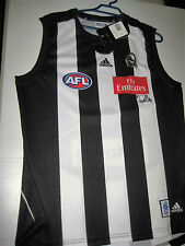 ALAN DIDAK HAND SIGNED COLLINGWOOD JERSEY UNFRAMED + PHOTO PROOF & C.O.A