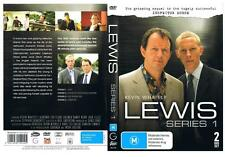 LEWIS, SERIES 1.  2 DVD SET. 4 EPISODES.