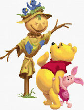 Winnie The Pooh & Scarecrow Counted Cross Stitch Kit TV/Film Disney