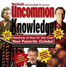 Uncommon Knowledge: Hundreds of How-To Tips from Your Favorite Celebs!-ExLibrary