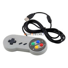 Super Nintendo SNES USB GAME Controller Gamepad Joypad for PC Mac Windows PAD