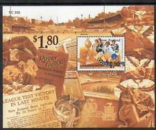 NEW ZEALAND MNH 1995 The 100th Anniversary of the Rugby League  M/S