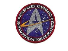 Star Trek Ecusson Starfleet Command United federation of planets patch+ scratch