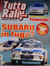 Tutto Rally Più 192 2000 La Clio RS. Mondiale e Tricolore: in fuga Subaru [Q103]