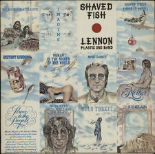 JOHN LENNON - Shaved Fish - 1975 UK first Apple label issue 12-track vinyl LP