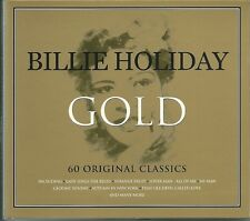 BILLIE HOLIDAY GOLD, Inc LOVER MAN, LADY SINGS THE BLUES & MANY MORE