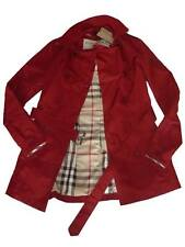 New Burberry Women's Stylish Trench Coat Short Jacket Size XS  Slim Fit