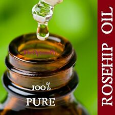 Pure ROSEHIP Oil in 15 ml amber bottle with glass dropper Favorite Beauty Serum