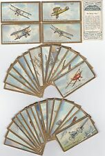 CIGARETTE CARDS PLAYERS AEROPLANE SERIES 34/50