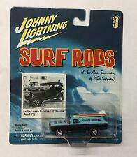 Johnny Lightning  - SURF RODS - Coast Busters  - 1959 Chevy Wagon  - 1:64