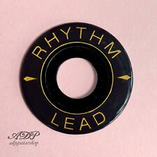 PLAQUE RHYTHM/LEAD RADIO'MATIC Ring Toggle Switch Plate LP SG Gibson NOIR Black