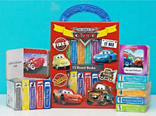 CARS SET OF 12 DISNEY CARS BOOKS IN CARRY CASE ~NEW FREE SHIPPING