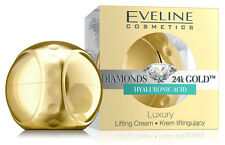 EVELINE DIAMONDS 24K GOLD CREAM LIFTING LUXURY HYALURONIC ACID