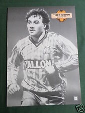 TERRY GIBSON - COVENTRY CITY  PLAYER - 1 PAGE PICTURE - CLIPPING /CUTTING -#2