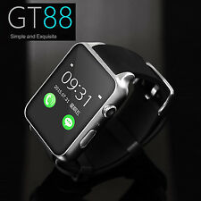 Waterproof GT88 NFC Bluetooth Smart Watch Phone Mate SIM GPRS For iphone Android