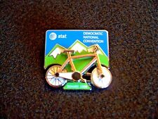 AT&T moving bicycle pin from 2008 Democratic National Convention in Denver Obama