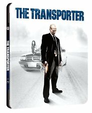 THE TRANSPORTER METALPAK STEELBOOK Bluray AUDIO ITALIANO