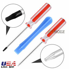 Red Torx T8H T6 Screwdriver Set Open Shell Tools for Repair Mod Install Xbox One
