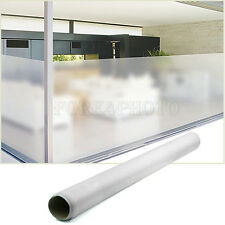 PVC Privacy Frosted Frost Home Bedroom Bathroom Glass Window Film 60cm x 300cm