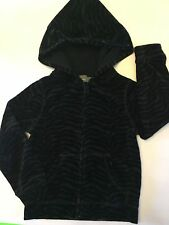 NWT BABY GAP BABYGAP TODDLER GIRLS 5T 5 YEARS BLEEKER ANIMAL PRINT VELOUR HOODIE
