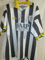 Notts County 1994-1995 Home Squad Signed Football Shirt with COA  /16282