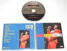 JAMES BROWN/THE GODFATHER RETURNS(SPECTRUM 550 199-2) CD ALBUM