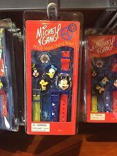 disney parks mickey friends interchangeable digital mix & match watch new w box