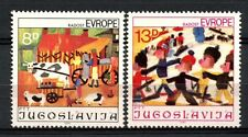 Yugoslavia 1981 SG#1999-2000 Joy Of Europe MNH Set #A32995