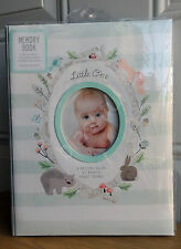 CR Gibson Woodland Squirrel Gender Neutral Boy Girl Baby Memory Keepsake Book