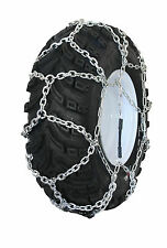 Grizzlar GTN-539 Garden Tractor Snow Tire Chains Traction Diamond Net 16x6.50-8