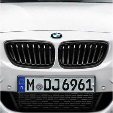 BMW M Performance Black Kidney Grille Set 2014-2017 428i 430iX Coupe 51712336813