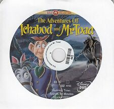 The Adventures of Ichabod and Mr. Toad (DVD, 2000) No Cover