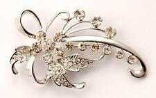 ConMiGo BB00040 An outstanding brooch emblazoned with shimmering crystals